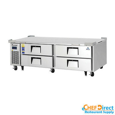 Everest Ecb72d4 72 Four Drawer Chef Base