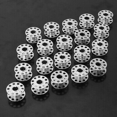 20Pcs Stainless Steel Sewing Machine Bobbins Silver for Home Factory Use Useful for sale  Shipping to Canada