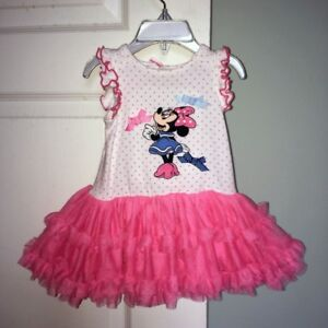 Disney Minnie Mouse Tutu dress (3-6m) Brand-new