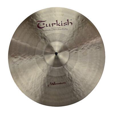 "TURKISH CYMBALS cymbale Millennium 21"" Ride 1961g"