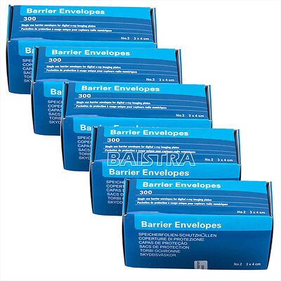 5box Dental Barrier Envelopes 2 For Intra Oral X-ray Scanx Phosphor Plate