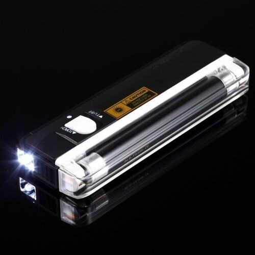 UV Portable black light Led Flashlight For Urine Detector Mo