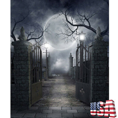 Halloween Party Studio Backdrops 5x7FT Vinyl Photo Backgrounds Photography Props