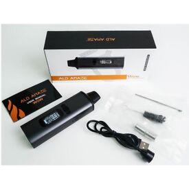 ALD AMAZE Kit dry herb vaporizer herbal 2100mAh Battery Electronic cigarette portable vape pen kits