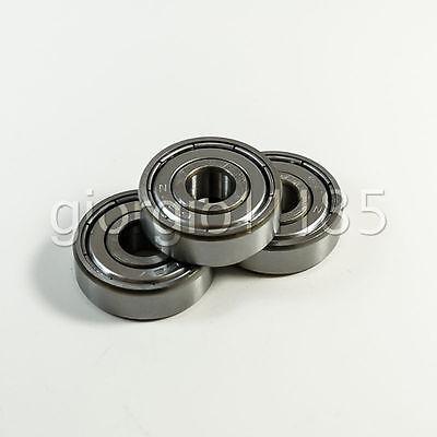 Us Stock 10pcs 627zz Miniature Bearings Ball Mini Bearing 7mm X 22mm X 7mm