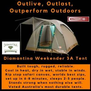 Diamantina Weekender 3A Safari Tent - FREE FREIGHT *