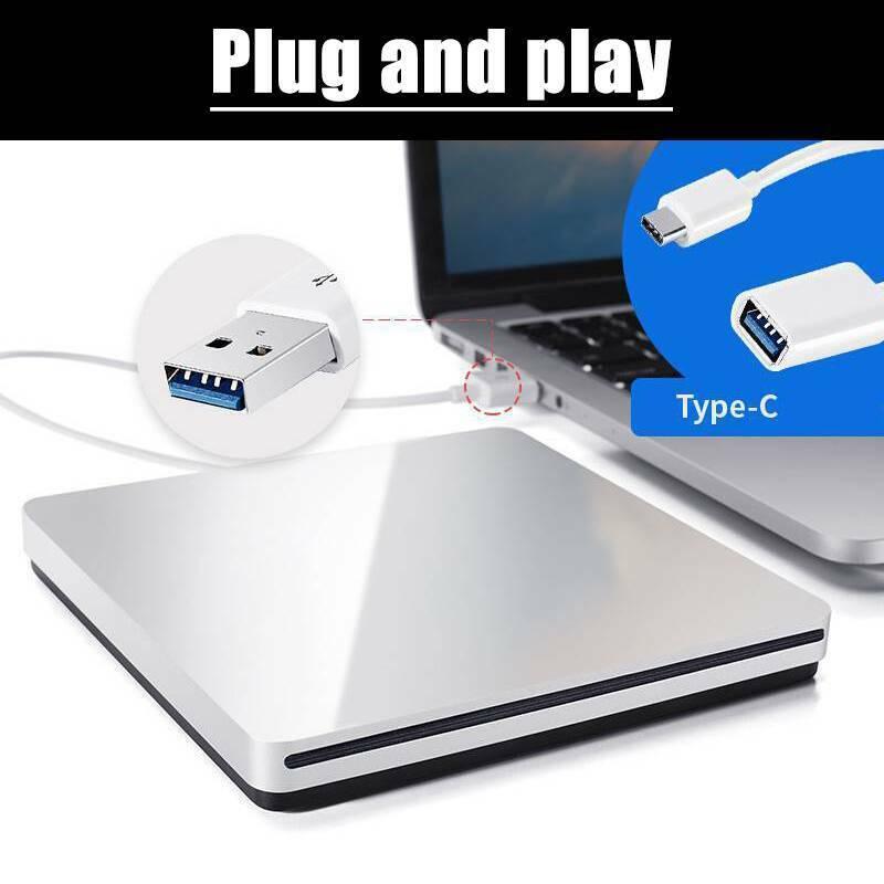For Air MAC USB External Slot-in CD/DVD Drive