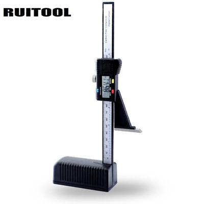 New Lcd Digital Height Depth Gauge Tester Measure 0-150mm6 Caliper Woodwork