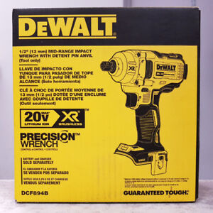20V DeWALT XR Brushless Impact Wrench - BARE TOOL
