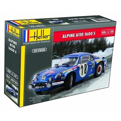 Heller 1/24 Alpine A110 1600S # 80745