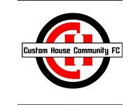 URGENT!!! FIRST TEAM FOOTBALL PLAYERS WANTED!!! E16, East London, Custom House Community FC
