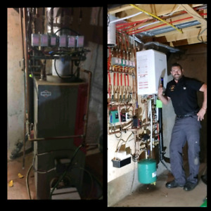 Furnace and boiler installations