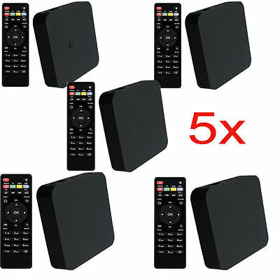 Lot 5 MXQ-4K Amlogic S805 Android Quad Core WiFi 1G/8GB FOR XBMC Smart TV Box US