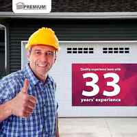 Same day garage door service premiumdoorservice.ca 780 450-0505