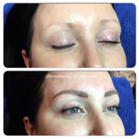 Permanent make up Ancaster $350 May promo