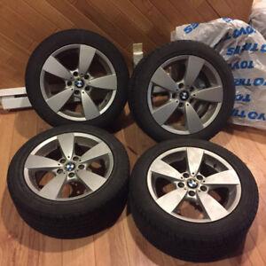Mag BMW 17`` avec pneus Toyo Extensa