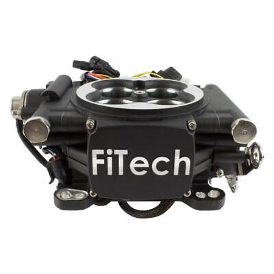 FiTech Fuel Injection System 30002; Go EFI 4 600 HP TBI Black