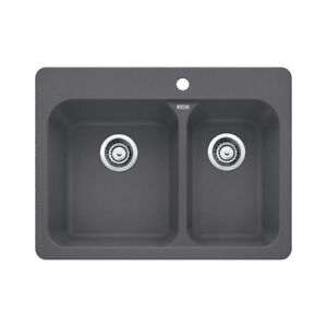 Blanco 401392 Vision 1.5 Double Drop In Kitchen Sink