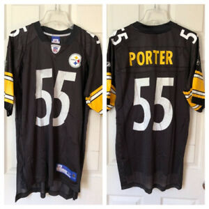 66652255e PITTSBURGH STEELERS JERSEY AND BALL CAP (EXC CDN)