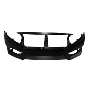 New Painted 2016-2018 Honda Civic Front Bumper & FREE shipping