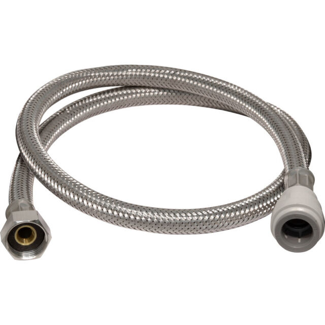 """NEW Pushfit Tap Connector 15mm x 1/2"""" 10mm Bore. 900mm Each"""