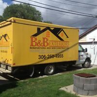 B&B EXTERIORS, free estimates