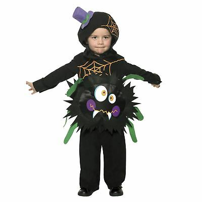 Toddler Crazy Spider Halloween Costume Unisex Scary Insect Creepy Crawly Fun - Creepy Toddler Costumes
