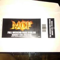 Matitoulin Country Fest Weekend Passes