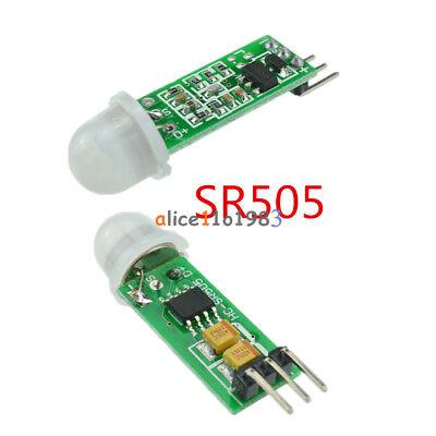 2510 Hc-sr505 Mini Infrared Pir Motion Sensor Precise Infrared Detector Module