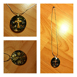 Beautiful cross necklace  just only $ 4
