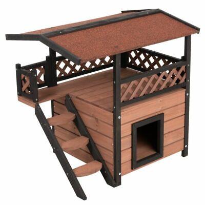 Casetta gioco in legno per gatti e cani piccoli - nuovo