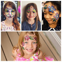 Affordable Face Painting, Balloon Twisting, Glitter Tattoos $75