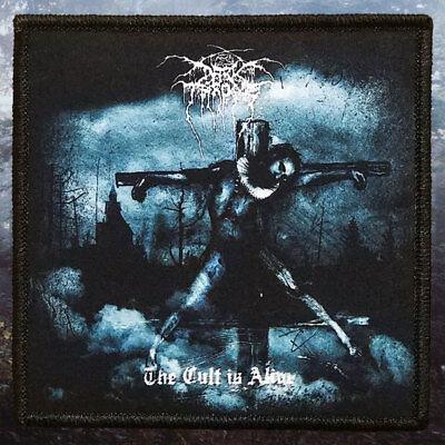 Darkthrone   The Cult Is Alive   Printed Patch   True Norwegian Black Metal
