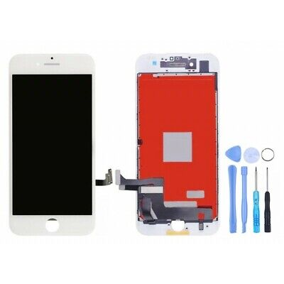 BLOC COMPLET ECRAN LCD VITRE TACTILE IPHONE 7+ Blanc