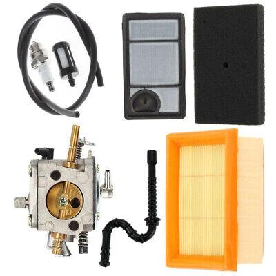 Saw Carburetor Kit Parts Accessory Tool Spark Plug For Stihl Ts400 Durable