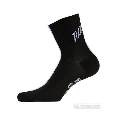 NEW Nalini Classics SETTANTA Coolmax Cycling Socks : BLACK/WHITE One Pair