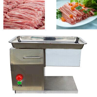 Desktop Meat Slicer Pork Cutting Machine With 5mm Blade 250kgh 550w Slicer