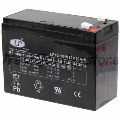 Batería Arrancador De Eléctrico Tractor Cortacésped 12V 9Ah 57970047