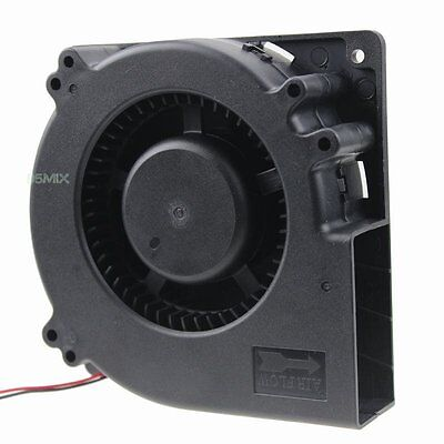 Dc 24v 120mm 120x25mm Computer Pc Brushless Cooling Blower Fan Exhaust Fan 12032