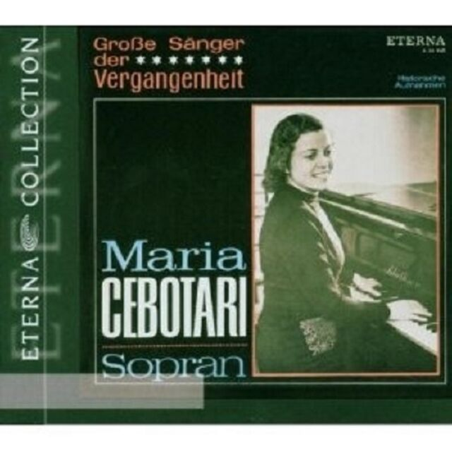 MARIA/ROTHER/RSB CEBOTARI - MARIA CEBOTARI-GROSSE SÄNGER ... CD NEU