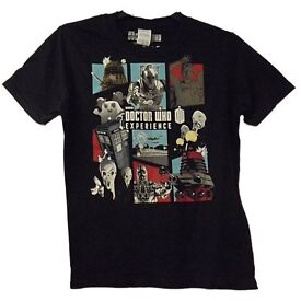 NEW DR WHO EXPERIENCE BBC top tshirt 👕 size boys girls 9-11 years