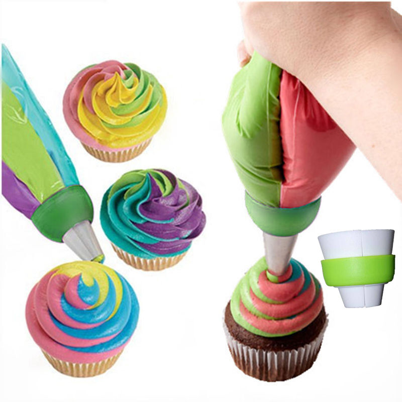 Icing Piping Nozzles Tips Pastry Bag Cake Cupcake Sugarcraft Decorating Tool LUD