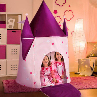 Kids Play Tent Princess Crystal Castle, Play-House Indoor &