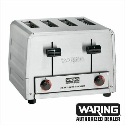 Waring Wct805b Commercial Heavy Duty 4 Slot Toaster 208v 1 Year Warranty