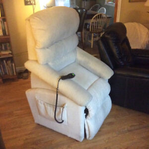 Chairs x2  Lazboy /Pride Luxury-Lift Power Recliners Special !!!