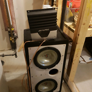 Kentwood Subs (Amp Sold)