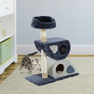 """Deluxe 34"""" Cat Tree Condo Furniture Play Toy Scratching Post Kit"""