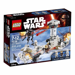 New LEGO Star Wars sets Hoth Attack 75138 & 75136, 75091 etc