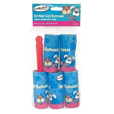 10 Paquete Rollos Adhesivo Pelusa Removedor Rodillo Gato Perro Mascota Pelo Dirt
