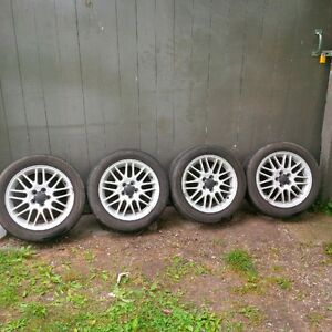 Great looking Subaru GT rims, with Summer tires